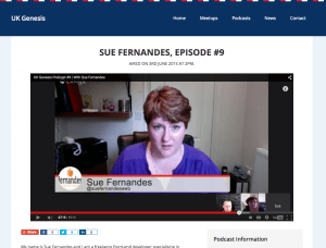 sue fernandes genesis developer