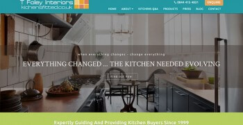 kitchens fitted blog website design