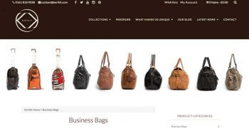 kerikit ecommerce website