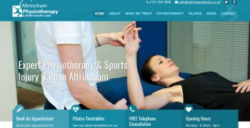 altrincham physiotherapy website